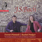 Bach - The Complete Sonatas for Violin and Obbligato Harpsichord