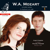 Mozart complete sonatas for Keyboard and Violin vol. 1