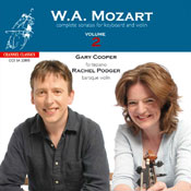 Mozart complete sonatas for Keyboard and Violin vol. 2