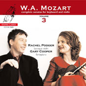 Mozart complete sonatas for Keyboard and Violin vol. 3