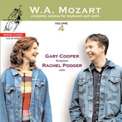 Mozart complete sonatas for Keyboard and Violin vol. 4