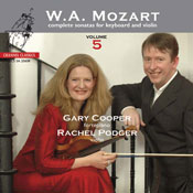 Mozart complete sonatas for Keyboard and Violin vol. 5