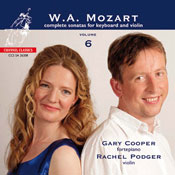 Mozart complete sonatas for Keyboard and Violin vol. 6