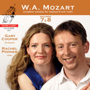 Mozart complete sonatas for Keyboard and Violin vol. 7/8