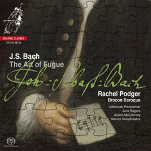 New CD release, 'Bach Art of Fugue'